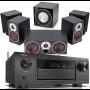 Denon AVR-X6400H AV Receiver w/ Dali Zensor 1 Bookshelf Speaker Package