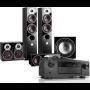 Denon AVC-X6500H AV Receiver w/ Dali Zensor 5 Floorstanding Speaker Package