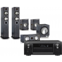 Denon AVR-X6400H AV Receiver w/ Monitor Audio Bronze B5 AV Speaker Package