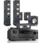 Denon AVR-X6400H AV Receiver w/ Monitor Audio Bronze B6 AV Speaker Package