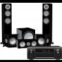 Denon AVR-X6400H AV Receiver w/ Monitor Audio Silver 200 Speaker Package