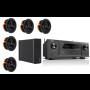 Denon AVR-X2400H AV Receiver w/ Monitor Audio C180 Speaker Package 5.1