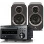 Denon RCD-M41DAB w/ Q Acoustics 3020i Speakers (DM41)
