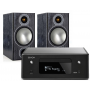 Denon RCD-N10 w/ Monitor Audio Bronze 2 Speakers
