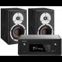 Denon Ceol RCD-N10 w/ Dali Spektor 2 Speakers