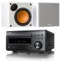 Denon RCD-M41DAB w/ Monitor Audio Monitor 50 Speakers (DM41)