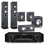 Marantz NR1608 AV Receiver w/ Monitor Audio Bronze B5 Speaker Package 5.1
