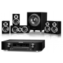 Marantz NR1607 AV Receiver w/ Wharfedale DX-1SE Speaker Package 5.1