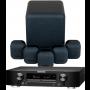 Marantz NR1710 AV Receiver w/ Monitor Audio Mass Gen2 5.1 Speaker Package