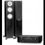 Marantz PM8006 Amplifier w/ Monitor Audio Silver 200 Speakers