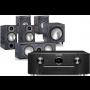 Marantz SR6012 AV Receiver w/ Monitor Audio Bronze B2 Bookshelf Speaker Package 5.1