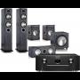 Marantz SR6012 AV Receiver w/ Monitor Audio Bronze B5 Floorstanding Speaker Package 5.1