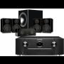Marantz SR6012 AV Receiver w/ Monitor Audio Radius R90HT1 Speaker Package 5.1