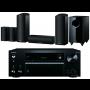 Onkyo TX-NR686 AV Receiver  w/ Onkyo SKS-HT588 Speaker Package 5.1.2