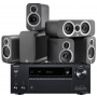 Onkyo TX-NR686 AV Receiver w/ Q Acoustics 3010i 5.1 Cinema Pack