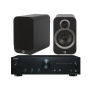 Onkyo A-9010 Amplifier w/ Q Acoustics 3010i Speakers