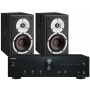 Onkyo A-9010 Integrated Amplifier w/ Dali Spektor 2 Speakers