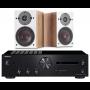 Onkyo A-9110 Amplifier w/ Dali Oberon 1 Speakers