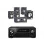 Pioneer VSX-831 w/ Monitor Audio Bronze 1 Speaker Package 5.1
