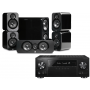 Pioneer VSX-1131 AV Receiver w/ Q Acoustics 3000 Speaker Package 5.1