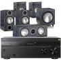 Sony STR-DN1080 AV Receiver w/ Monitor Audio Bronze B2 AV Speaker Package 5.1
