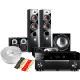 Yamaha RX-A1060 AV Receiver w/ Dali Zensor 7 Speaker Package 5.1