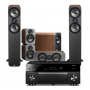 Yamaha RX-A1070 AV Receiver w/ Q Acoustics 3050 Floorstanding Speaker Package 5.1