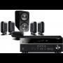 Yamaha RX-V583 AV Receiver w/ Q Acoustics 7000i PLUS Speaker Package 5.1