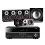 Yamaha RX-V383 AV Receiver w/ Dali Zensor 1 Speaker Package 5.1