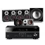 Yamaha RX-V583 AV Receiver w/ Dali Zensor 1 Speaker Package 5.1