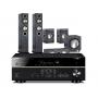 Yamaha RX-V681 AV Receiver w/ Monitor Audio Bronze 5 Speaker Package 5.1