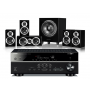 Yamaha RX-V681 AV Receiver w/ Wharfedale DX-1SE Speaker Package 5.1