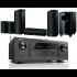 Denon AVR-X2500H AV Receiver w/ Onkyo SKS-HT588 Speaker Package 5.1.2