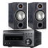 Denon RCD-M41DAB w/ Monitor Audio Bronze 2 Speakers (DM41)