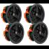 Monitor Audio C165 Ceiling Speaker Pack of 4 Dolby Atmos