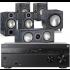 Sony STR-DN1080 AV Receiver w/ Monitor Audio Bronze 2 AV Speaker Package 5.1