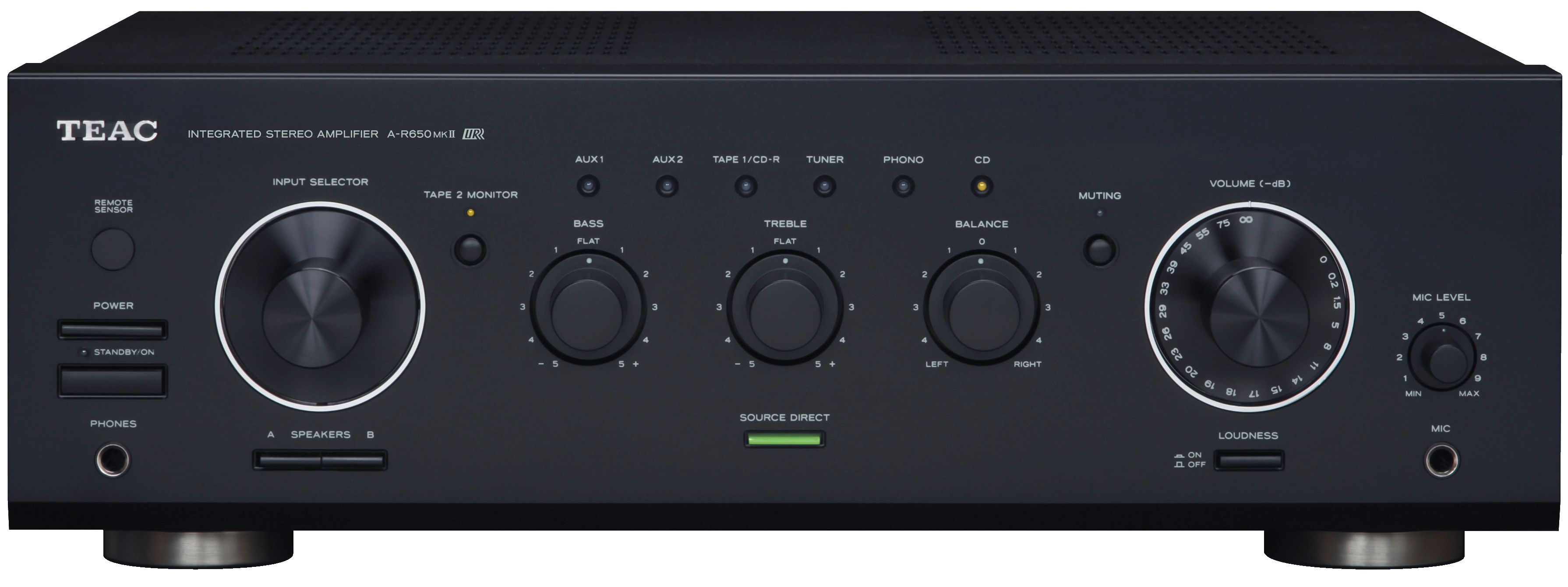 teac a r650 mkii integrated amplifier ar650mkii