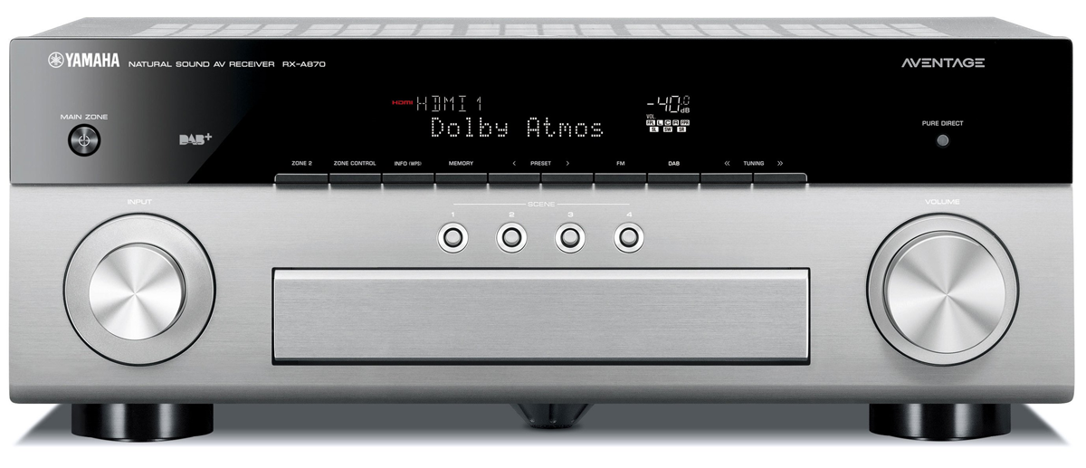 yamaha rx-a870 aventage av receiver musiccast - amplifiers