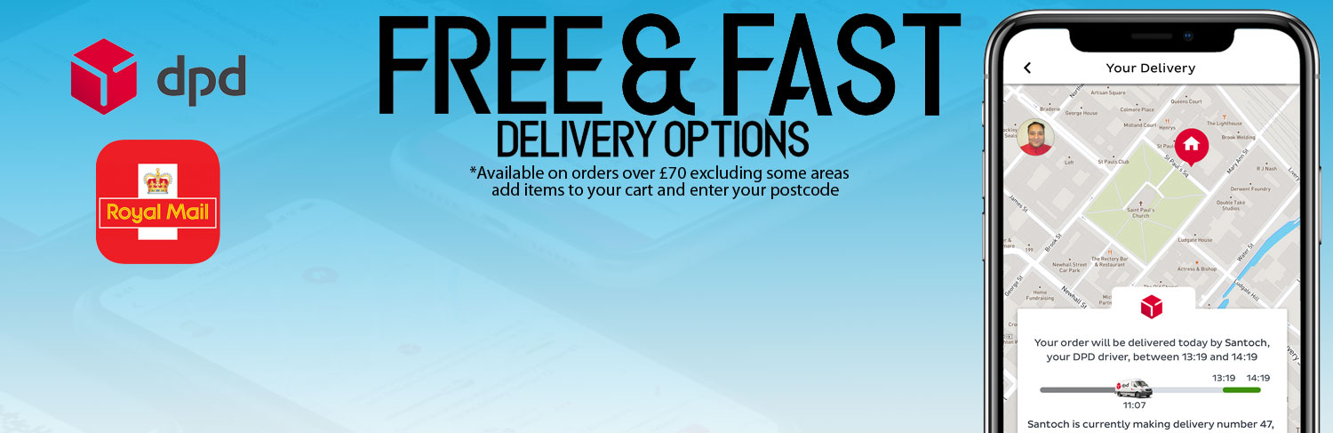 FREE & FAST Delivery Options