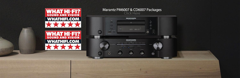WhatHiFi 5 Star - Marantz PM6007/CD6007 Package